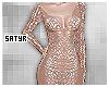 Sheer Nude Gown