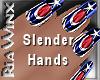 Wx:Slender Hand USA Nail