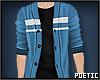 P|BlueStripeCardigan