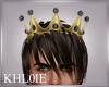 K king crown gold blk