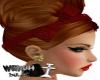 COBRE HAIR TIARA RED