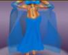Blue Sparkle shawl