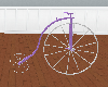 (e)lilac penny farthing