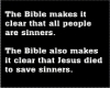 The Bible makes it clear