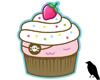 Cute Pirate Cupcake