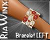 Garnet Pearl Brclt LH