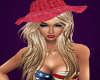 Kandace Blonde /Red Hat