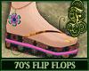 70's Flip Flops