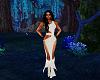 fancy white dress