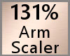Arm Scaler 131% F A