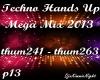 Techno Mega Mix 13/18