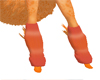 Peach Fuzz Leg Warmers