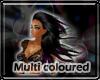 multicoloured flow hair
