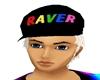 *R* Raver Hat Plat. Hair