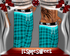 Plaid Pjs Pants - Turq