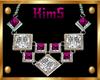 [K] Pink Necklace