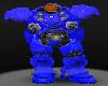 Terran Marine Helm Blue