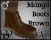 MM~ Manga Boots Brown
