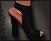 Get Low Black Heels