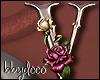 Deco Rose Sticker (V)