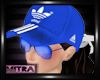 ! Adidas Cap W/Blue