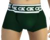 ^mOOmOO^ CK BOXERS GREEN