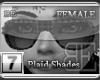 [BE] Grey Plaid|Shades F