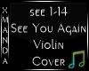 See You Again Violin