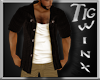Wx:Cardigan & Tank Brown