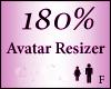 Avatar Resize Scaler 180