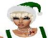 X-MAS GREEN HAT/PLATINUM