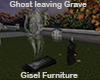 Ghost Leaving Grave