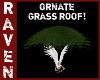 ORNATE GREEN GRASS ROOF!