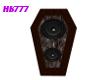 HB777 CI Coffin Speaker