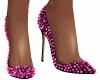 Ruby Spiked Heels