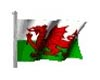 Animated Welsh Flag