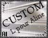 Custom Tattoo L