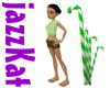 Mint Candycane Grass