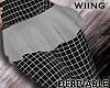 [W] Epik Mini Skirt M