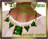 Emeraude Gems Necklace