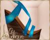 {liz} turquoise Sandals