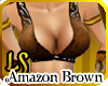 Fantasy Amazon Top Brown