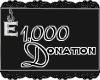 [e] 1k Donation Sticker