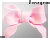 Little pink bow.