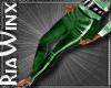 Green Holiday Pants