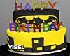 Y' Batman Cake HBD