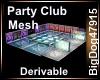 [BD] Party Club Mesh