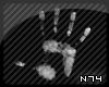 [N74] Hand White