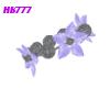 HB777 SFF Lily Brac Bl/S