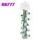 HB777 CBW Roses Pillar